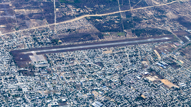 A view from Riohacha Almirante Padilla Airport