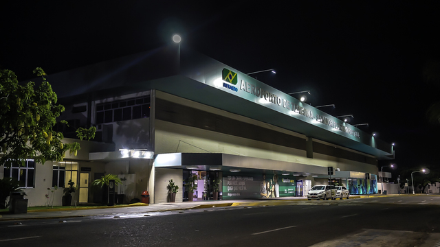 A view from Teresina Airport