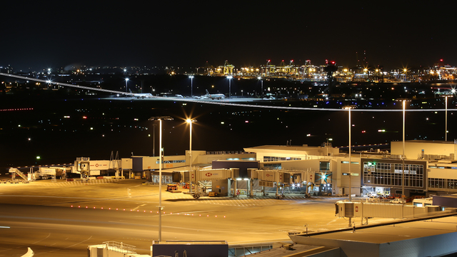 A view from Sydney Kingsford Smith Airport