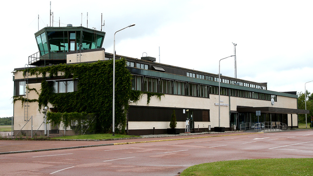 A view from Mariehamn Airport