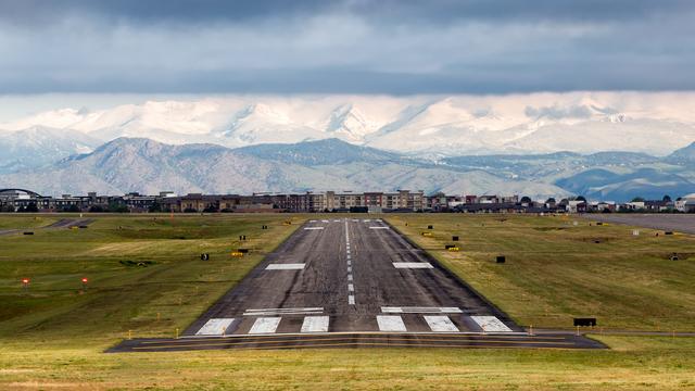 A view from Denver Centennial Airport