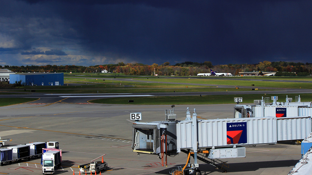 A view from Albany International Airport