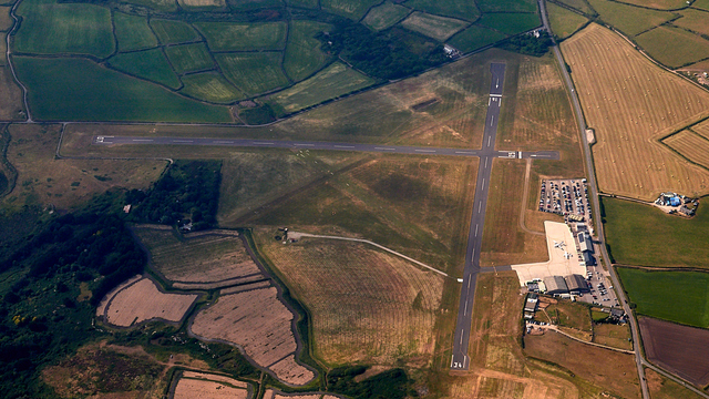 A view from Lands End Airport