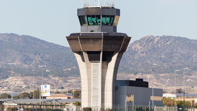 A view from Murcia Corvera International Airport