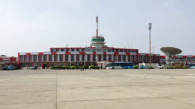 A view from Kano Mallam Aminu International Airport