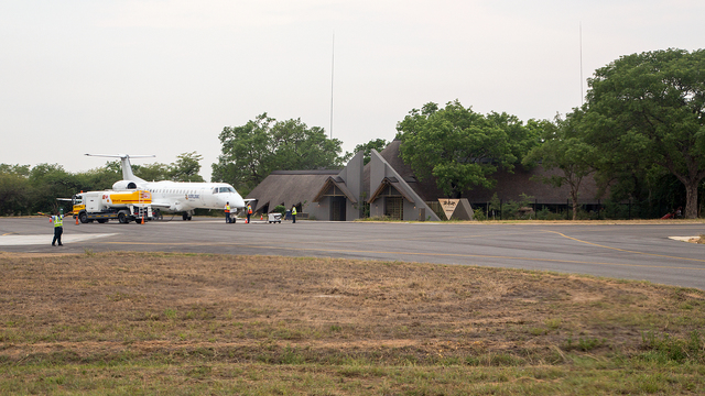 A view from Skukuza Airport