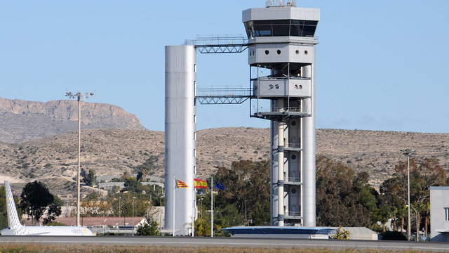A view from Alicante Airport