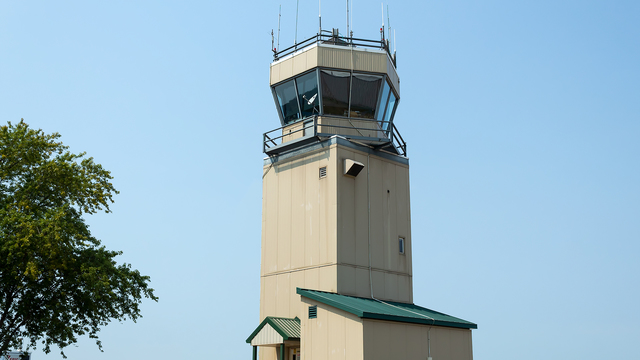 A view from Chicago Aurora Municipal Airport