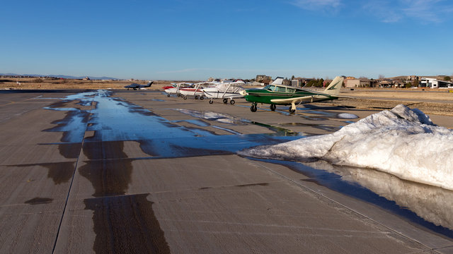 A view from Erie Municipal Airport