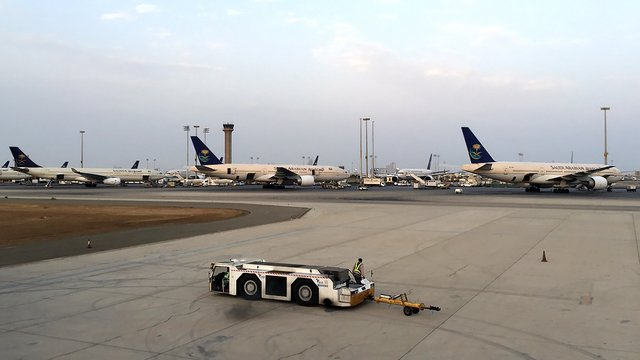 A view from Jeddah King Abdulaziz International Airport