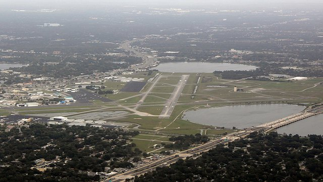 A view from Orlando Executive Airport