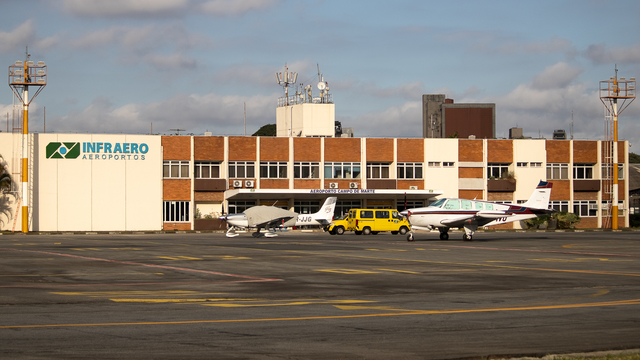 A view from Sao Paulo Campo de Marte Airport