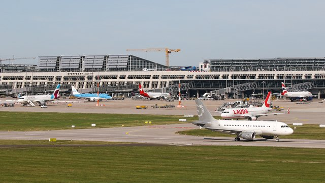 A view from Stuttgart Airport