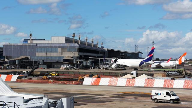 A view from Porto Alegre Salgado Filho International Airport