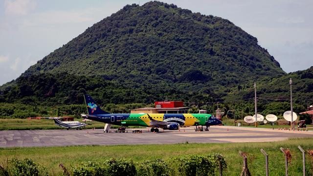 A view from Fernando de Noronha Airport