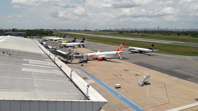 A view from Cuiaba Marechal Rondon International Airport