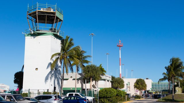 A view from Key West International Airport