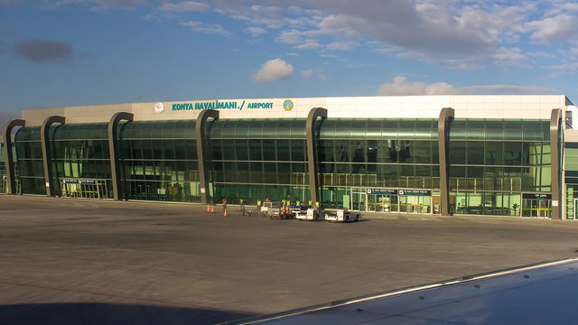 A view from Konya Airport