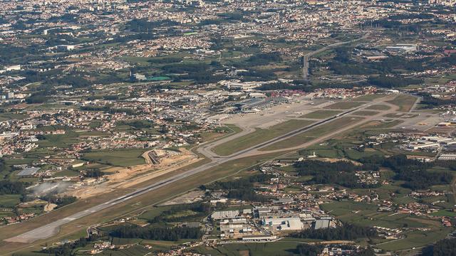 A view from Porto Francisco de Sa Carneiro Airport