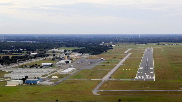 A view from Ocala International Airport