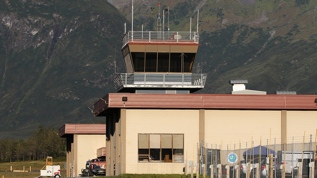 A view from Valdez Airport