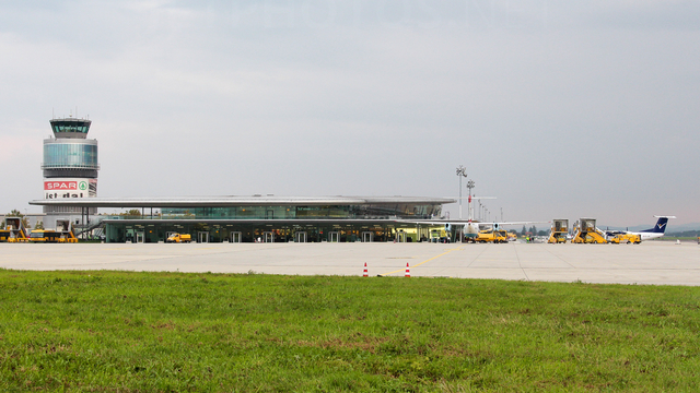 A view from Graz Airport