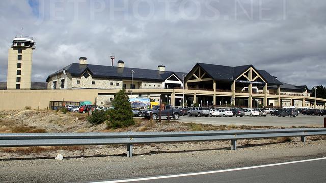 A view from San Carlos de Bariloche Airport