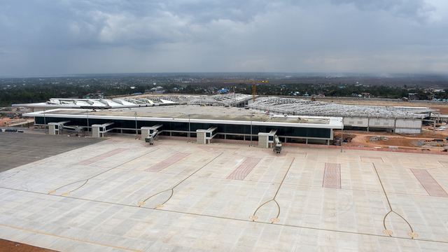 A view from Banjarmasin Syamsudin Noor Airport