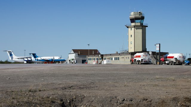 A view from Inuvik Airport