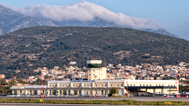 A view from Samos International Airport
