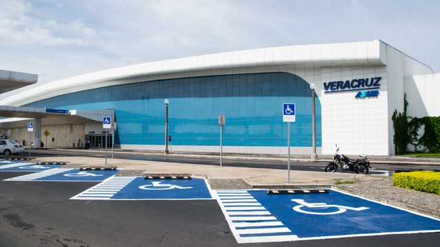 A view from Veracruz International Airport