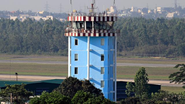 A view from Da Nang International Airport