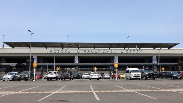 A view from Accra Kotoka International Airport