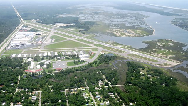 A view from St. Augustine Northeast Florida Regional Airport