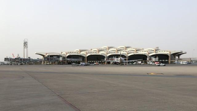 A view from Riyadh King Khalid International Airport