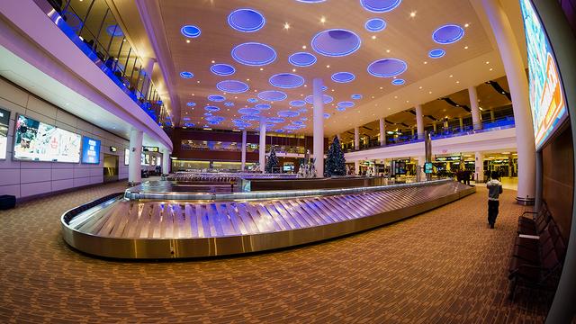 A view from Winnipeg International Airport