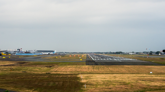 A view from Guayaquil International Airport