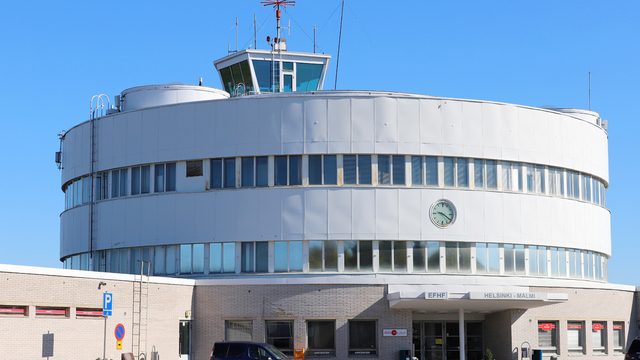 A view from Helsinki Malmi Airport