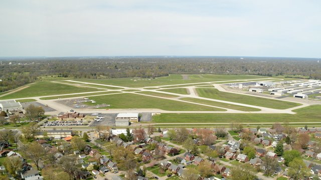 A view from Louisville Bowman Field Airport