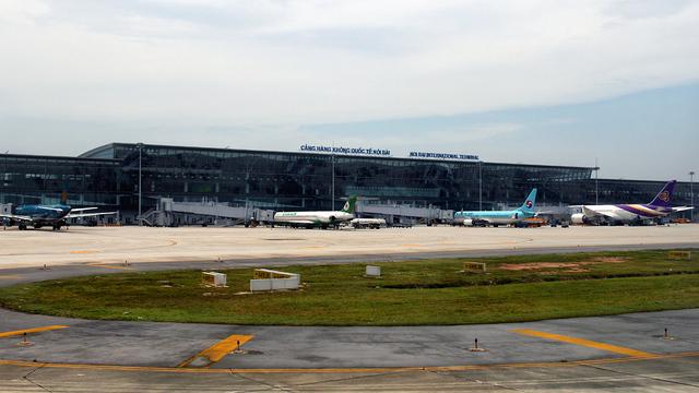 A view from Hanoi Noi Bai International Airport