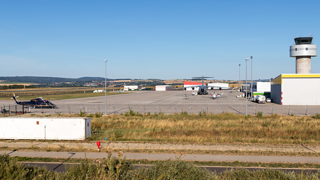 A view from Kassel Calden Airport