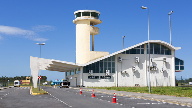 A view from Jaguaruna Regional Airport