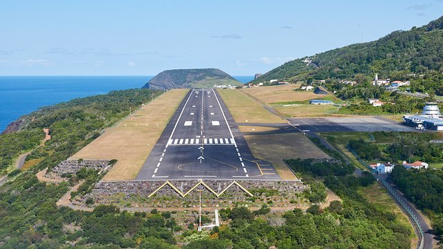 A view from Sao Jorge Airport
