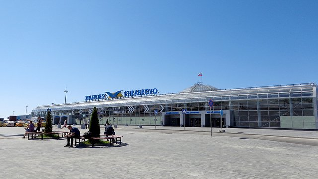 A view from Kaliningrad Khrabrovo Airport