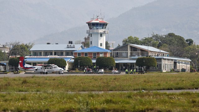 A view from Pokhara Airport