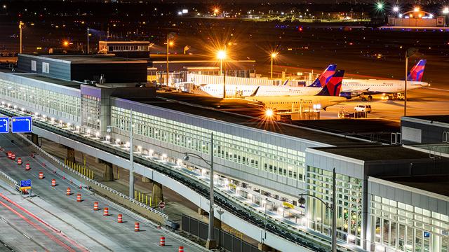 A view from Minneapolis Saint Paul International Airport