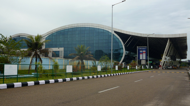 A view from Trivandrum International Airport
