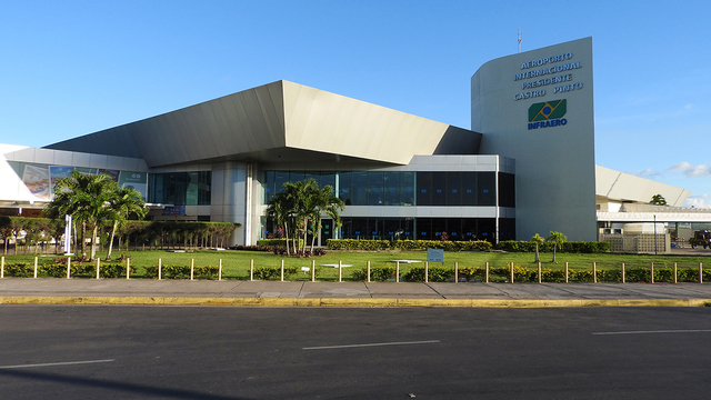 A view from Joao Pessoa Castro Pinto International Airport