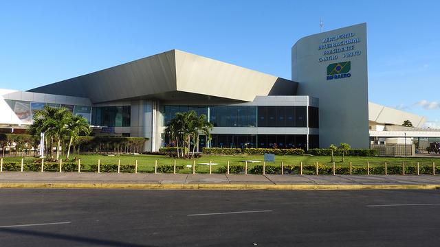 A view from Joao Pessoa Castro Pinto International Airport