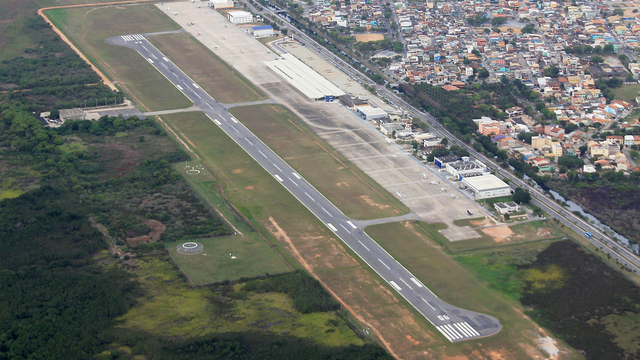 A view from Macae Airport